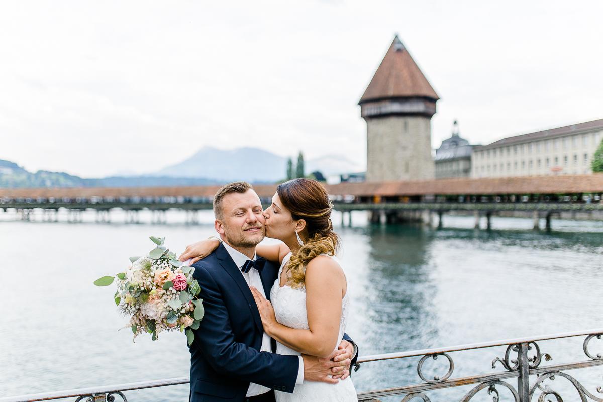 Kapellebrücke Hochzeit