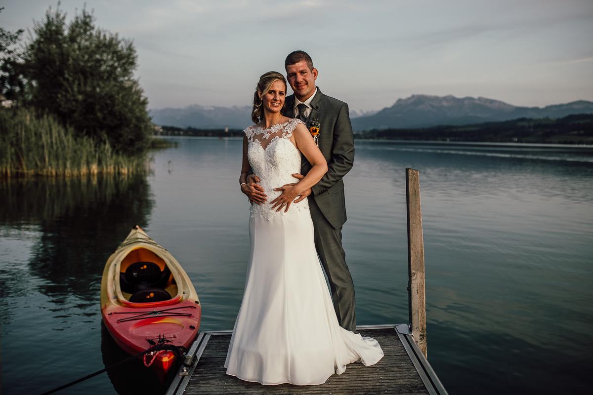 Hochzeit Sonne Seehotel Eich